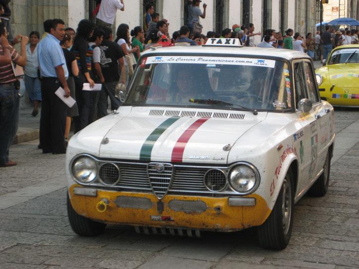 Old Alfa Romeo taxi