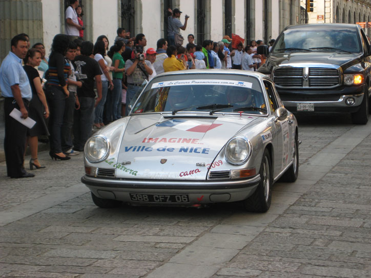 Lots of Porsches in the race, maybe not surprising...