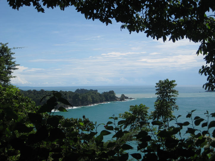 View from Manuel Antonio national park